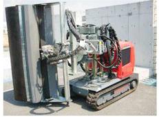 削孔や洗浄を自動化するロボットです。